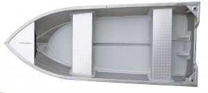 Rybársky čln Smartliner Alu 130