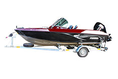 Referencia Finval FishPro 505 JS + Honda BF100, Zeleneč